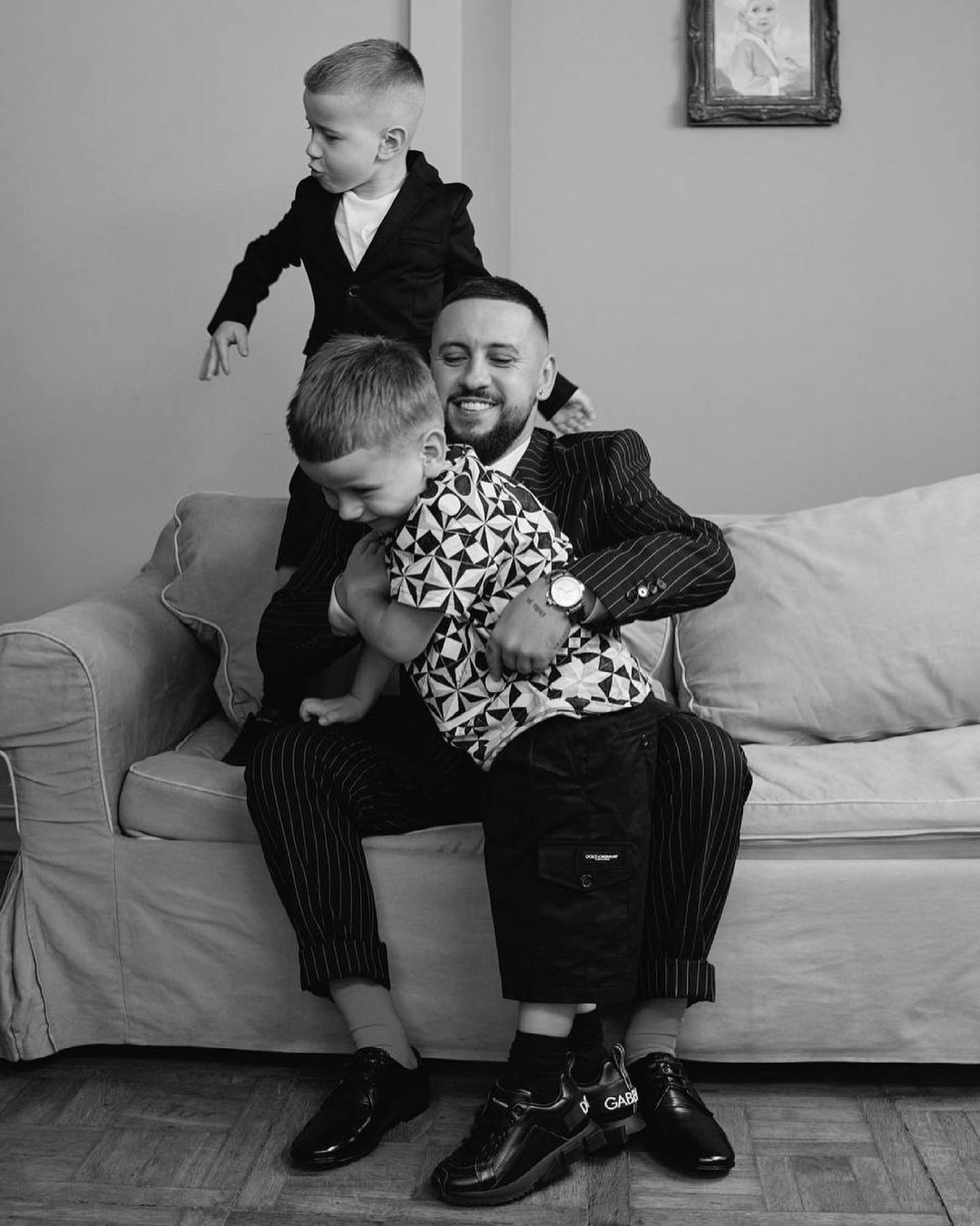 День отца в Instagram-ленте Маши Ефросининой, Monatik и Насти Каменских