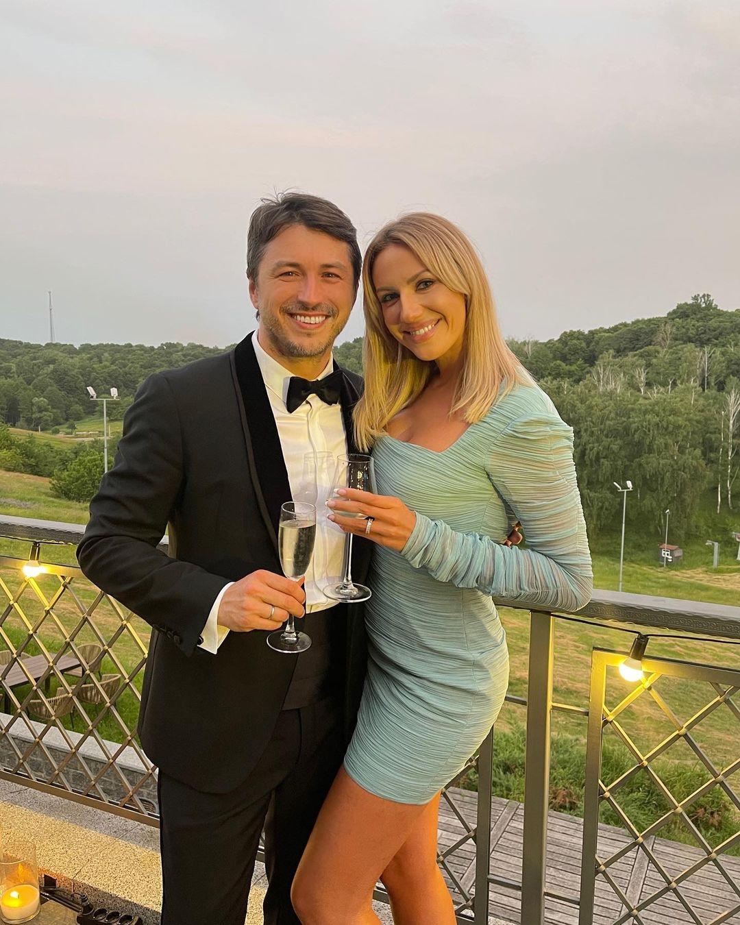 Маша Ефросинина и Леся Никитюк побывали на юбилее Сергея Притулы