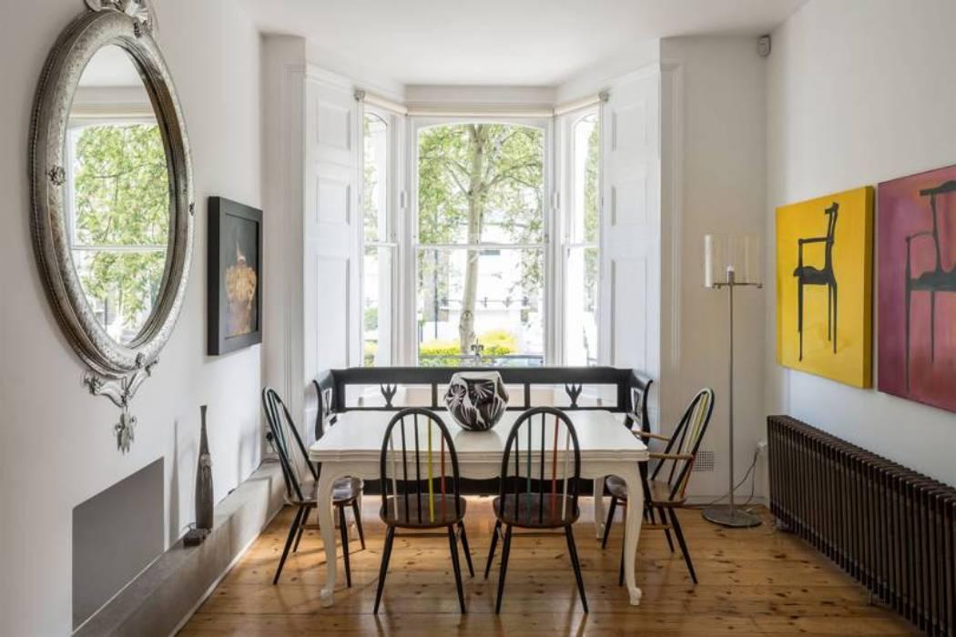 В Лондоне продают таунхаус Александра Маккуина: рассматриваем интерьер