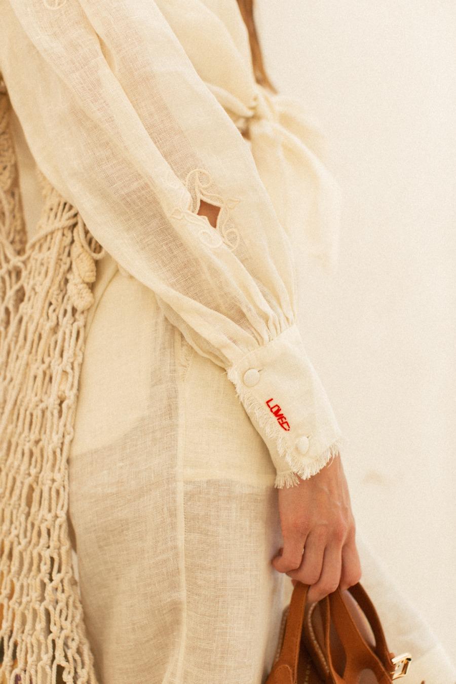 Элла Кандыба стала лицом новой летней коллекции Atelier Handmade