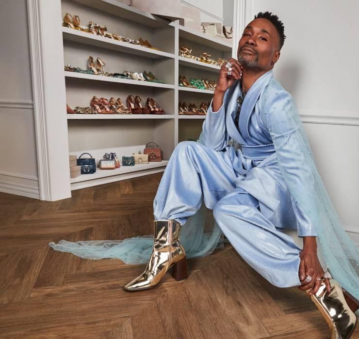Біллі Портер і Jimmy Choo випустили колекцію унісекс-взуття