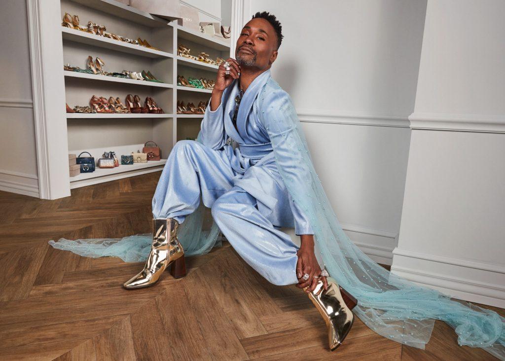 Билли Портер и Jimmy Choo выпустили коллекцию унисекс-обуви