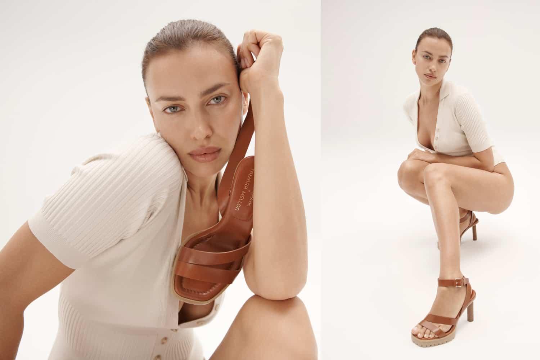 Ирина Шейк представила дебютную коллекцию обуви