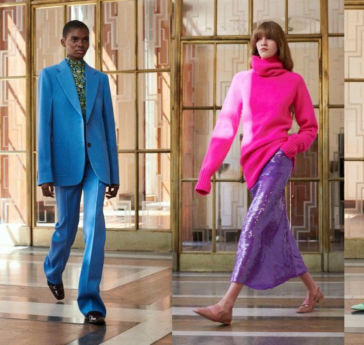 Паєтки та розмаїття кольорів у новій колекції Victoria Beckham SS'22