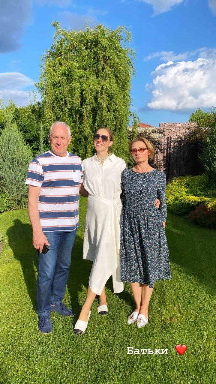 Сын-выпускник и отец-именинник: семейные будни Кати Осадчей