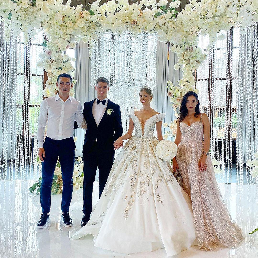 Футболист «Шахтера» Валерий Бондарь женился