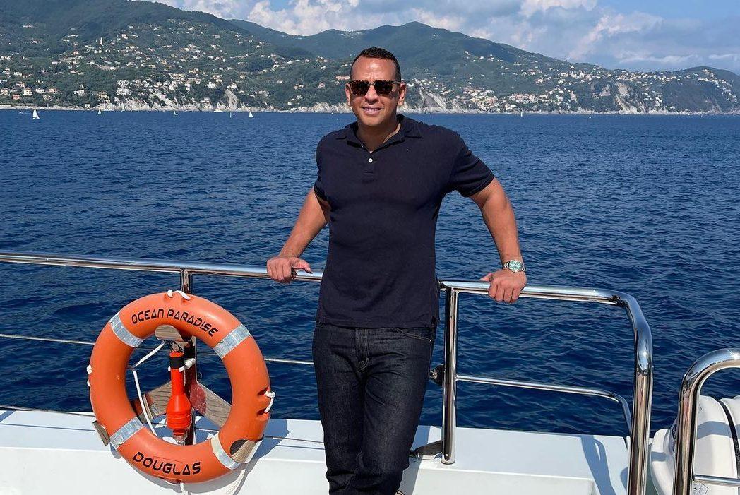 По следам Джей Ло: Алекс Родригес отметил 46-летие на Французской Ривьере