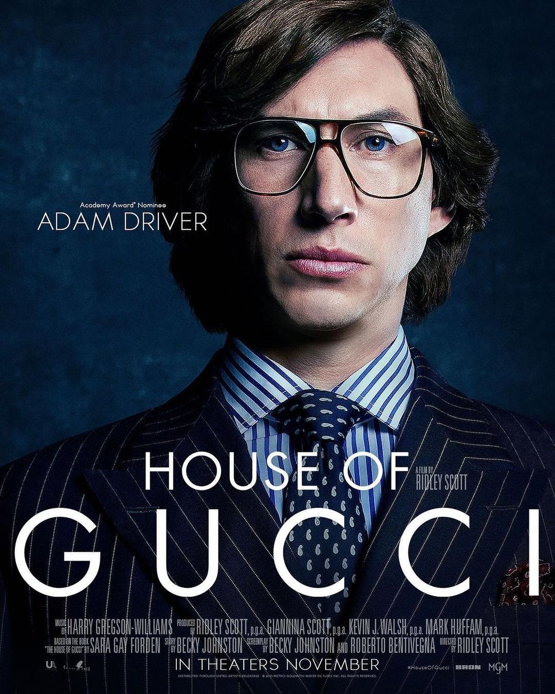 Леди Гага, Адам Драйвер и Джаред Лето в трейлере фильма «Дом Гуччи»