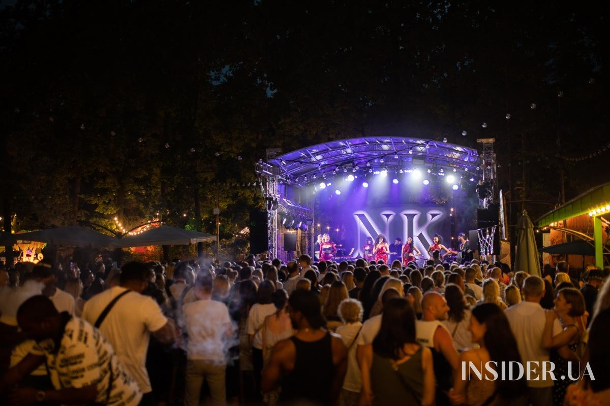 Зажигательный концерт Насти Каменских   NK на Cuba Camp