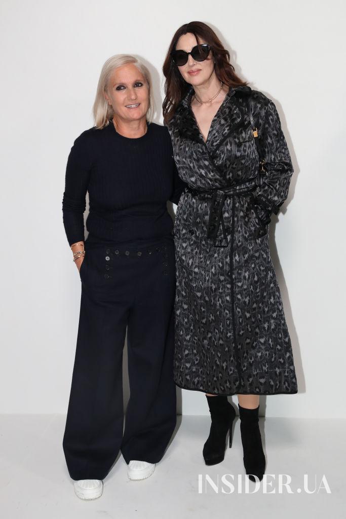 Моника Белуччи, Дженнифер Лоуренс и семейство Арно на показе Dior Haute Couture FW'21/22