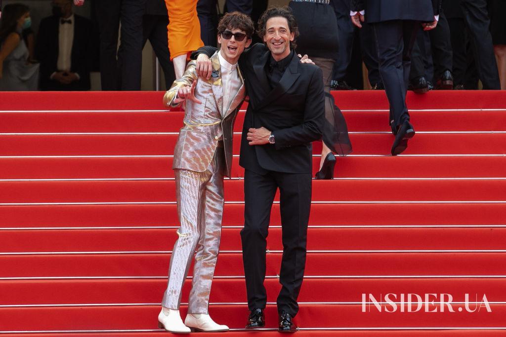 Канны 2021: Тимоти Шаламе и Тильда Суинтон на премьере фильма «Французский вестник»