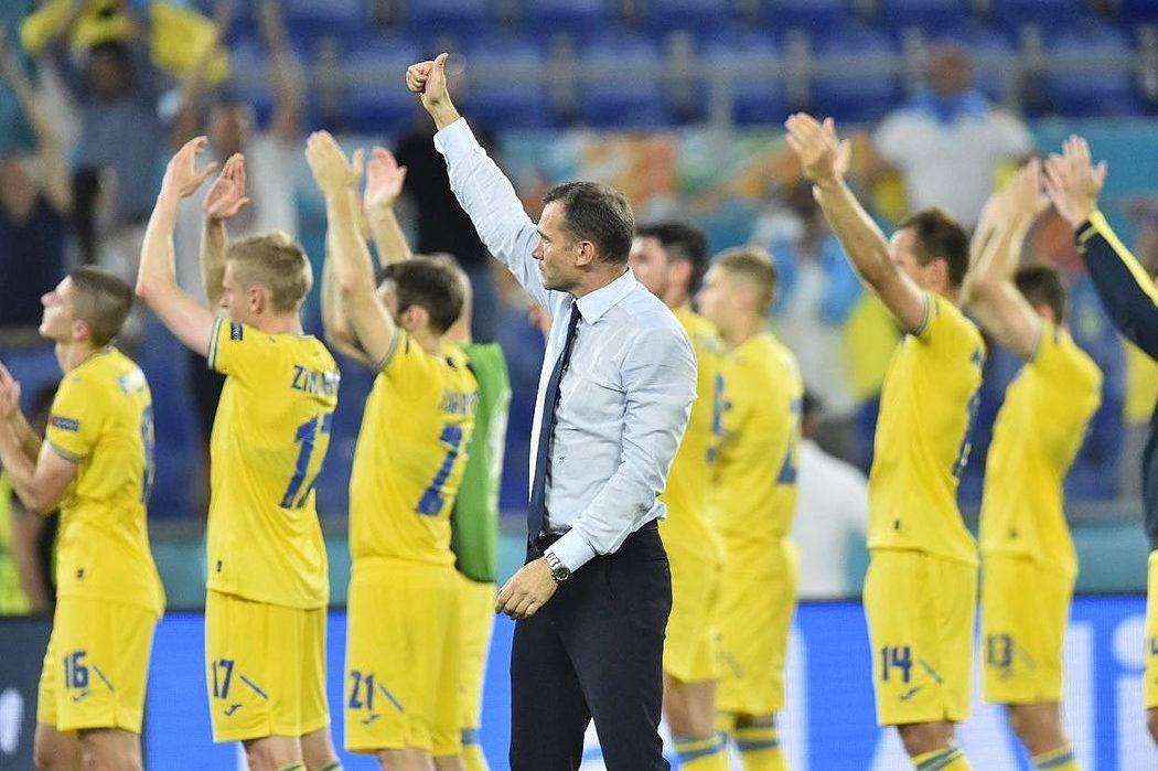 «Горжусь игрой своей команды»: Андрей Шевченко –о поражении Украины в ЕВРО-2020