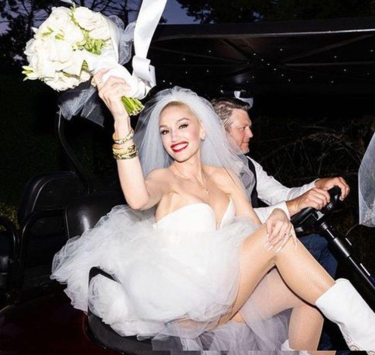 Гвен Стефани показала первые кадры со свадьбы