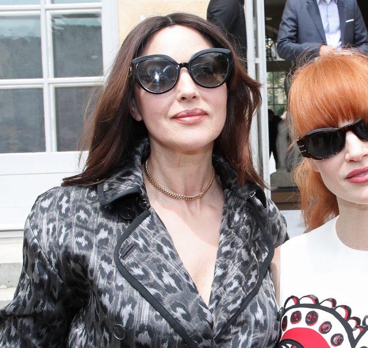 Моніка Белуччі, Дженніфер Лоуренс і родина Арно на показі Dior Haute Couture FW'21/22