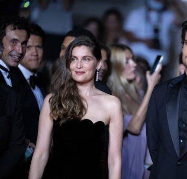 Редкий выход: Летиция Каста и Луи Гаррель блистают на Каннском кинофестивале