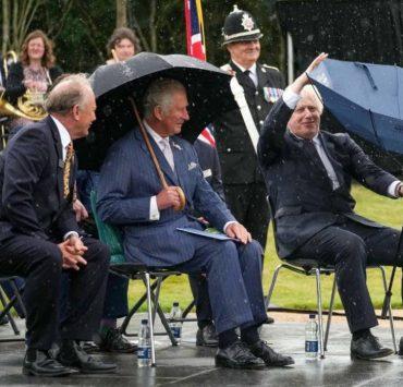 Как Борис Джонсон рассмешил принца Чарльза