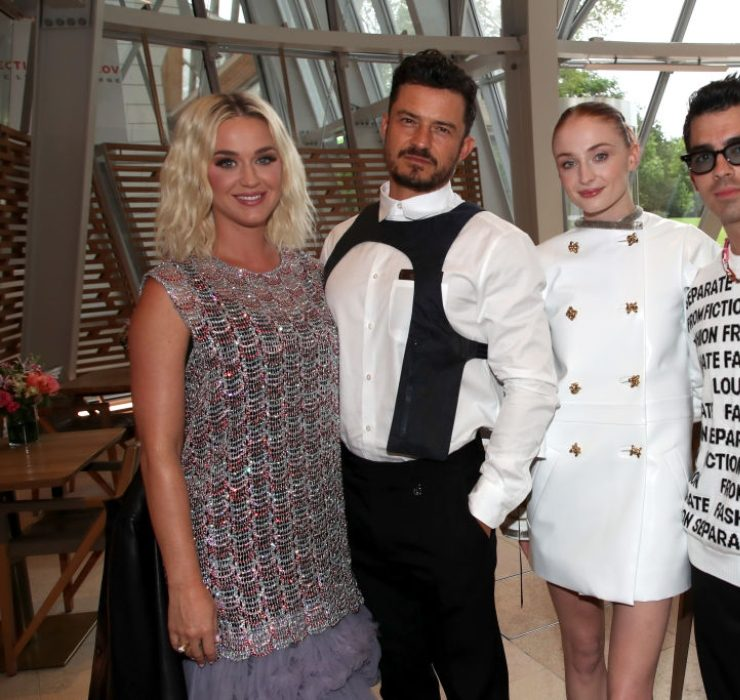 Софи Тернер и Джо Джонас на званом обеде Louis Vuitton в Париже