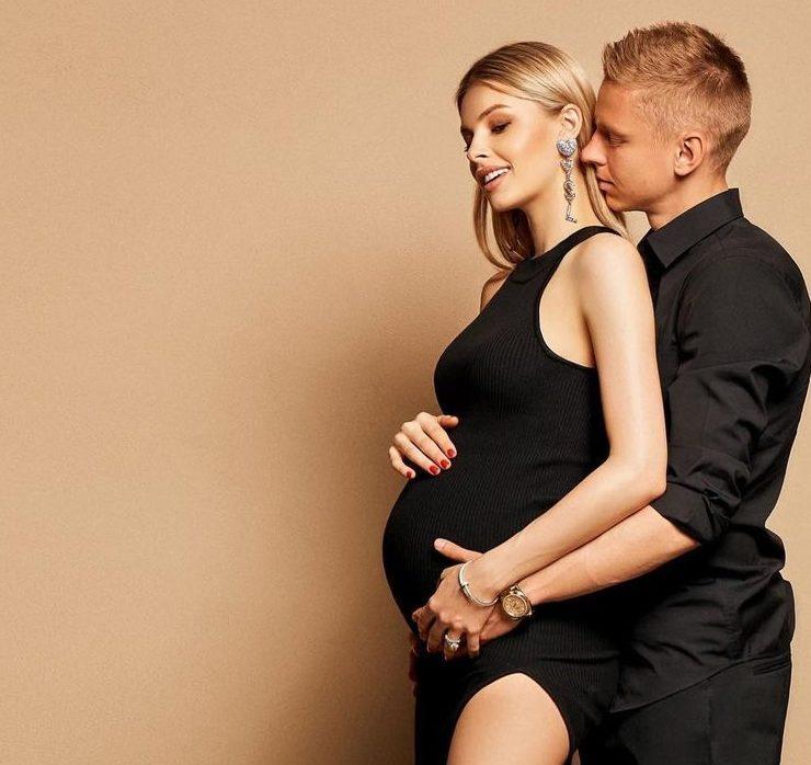 Футболист Александр Зинченко и Влада Седан впервые стали родителями