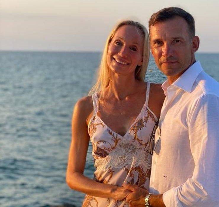 «Моя любовь»: Андрей Шевченко показал нежный кадр с женой