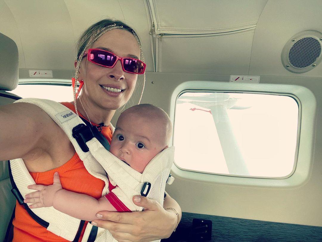С маленьким сыном: каникулы Василисы Фроловой в Турции