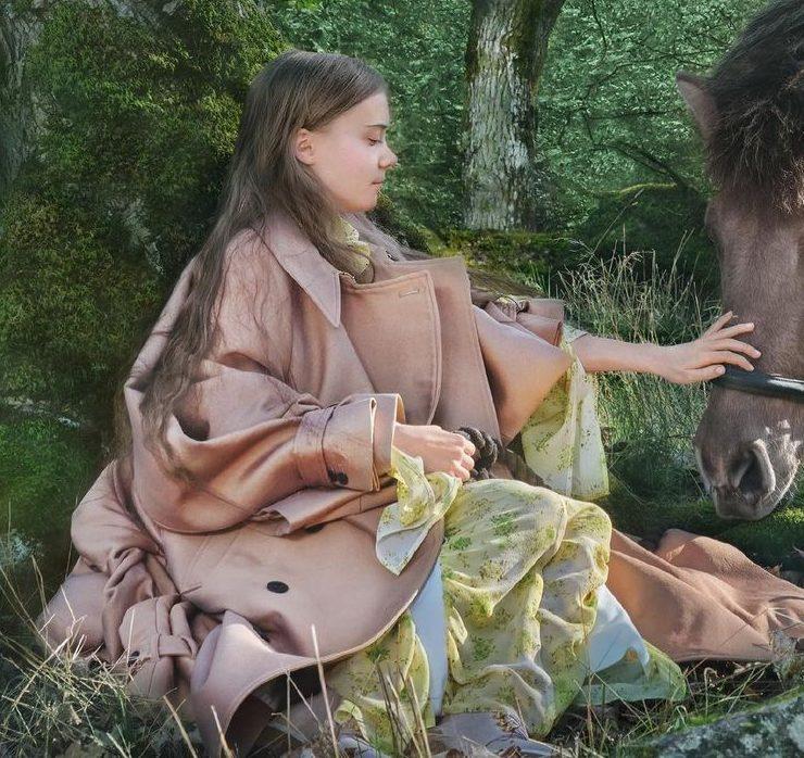 Грета Тунберг появилась на обложке дебютного номера Vogue Scandinavia