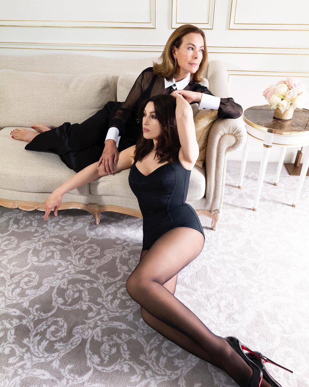 Чувственные кадры: Моника Беллуччи снялась с Кароль Буке