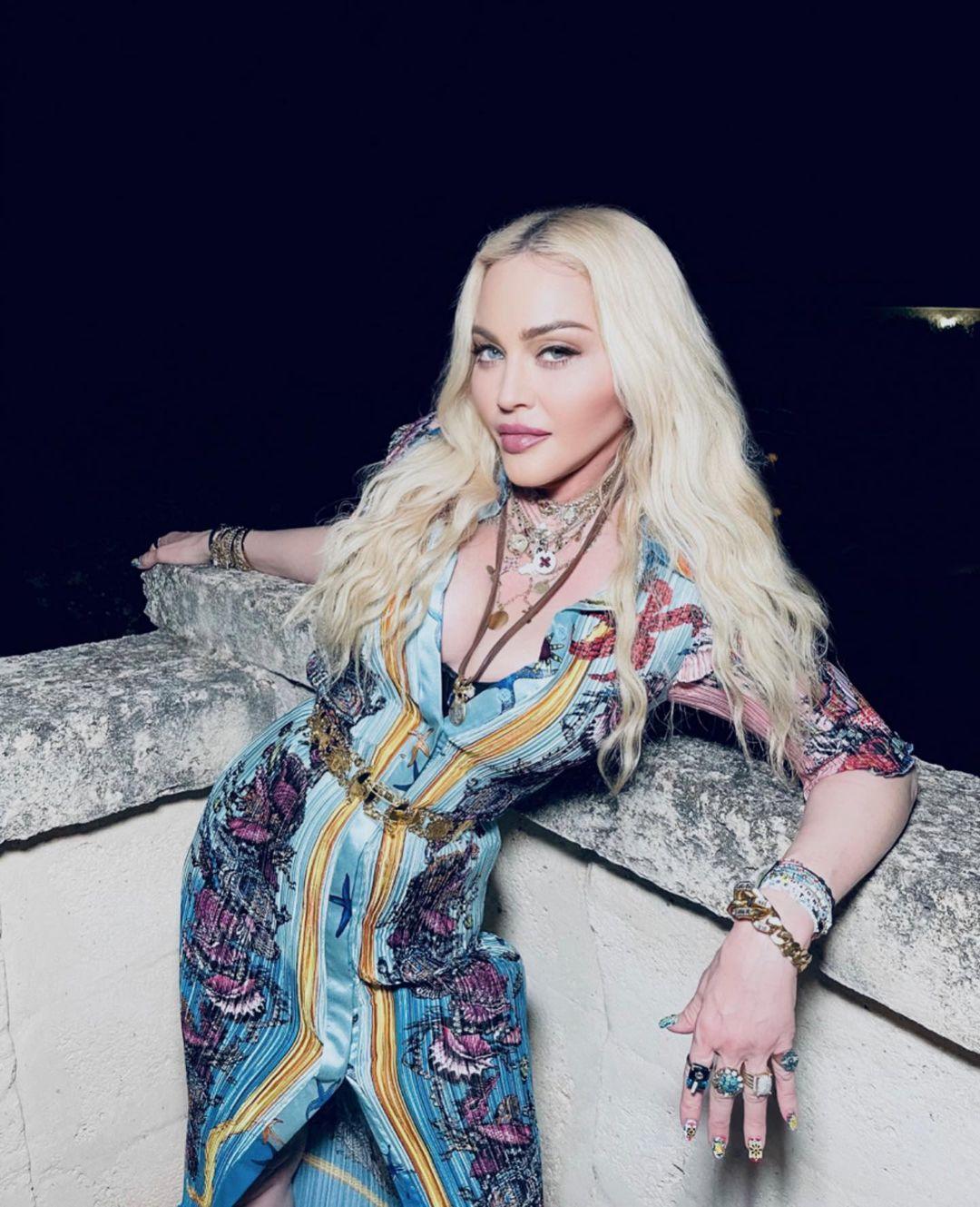 Веселье до утра: как Мадонна отпраздновала 63-летие