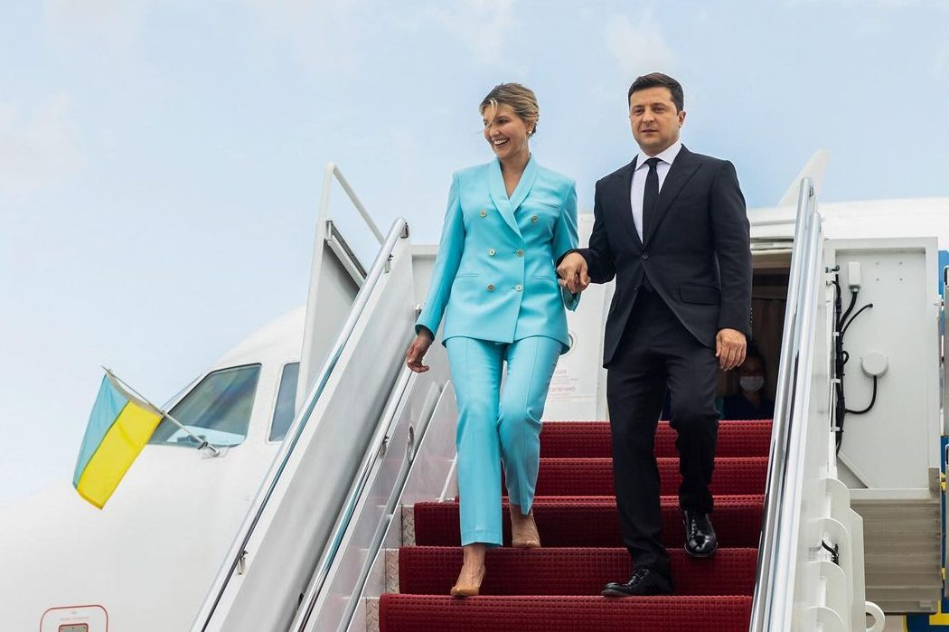 Образ дня: Елена Зеленская прибыла в США