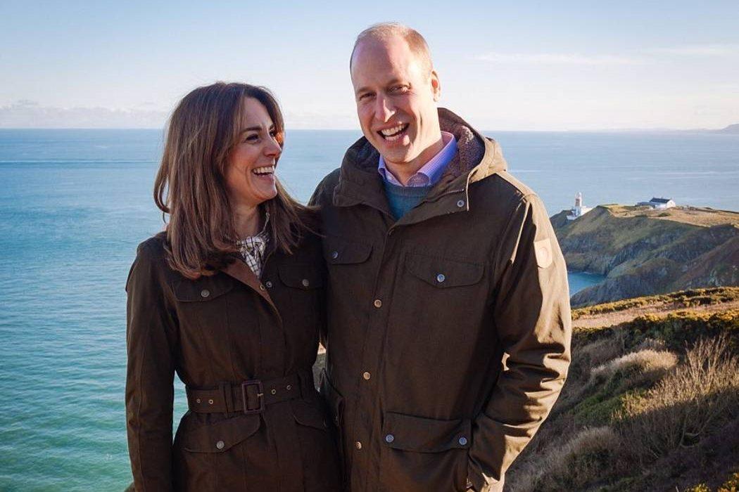 Кейт Миддлтон и принц Уильям отдыхают на острове Треско