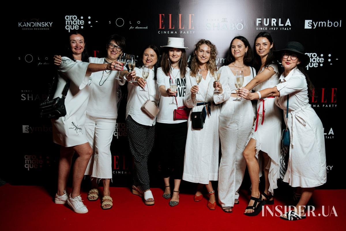 Кино и вино: в Одессе прошла ELLE Cinema Party