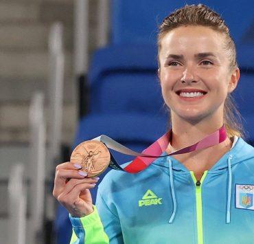 Элина Свитолина завоевала «бронзу» на Олимпийских играх в Токио
