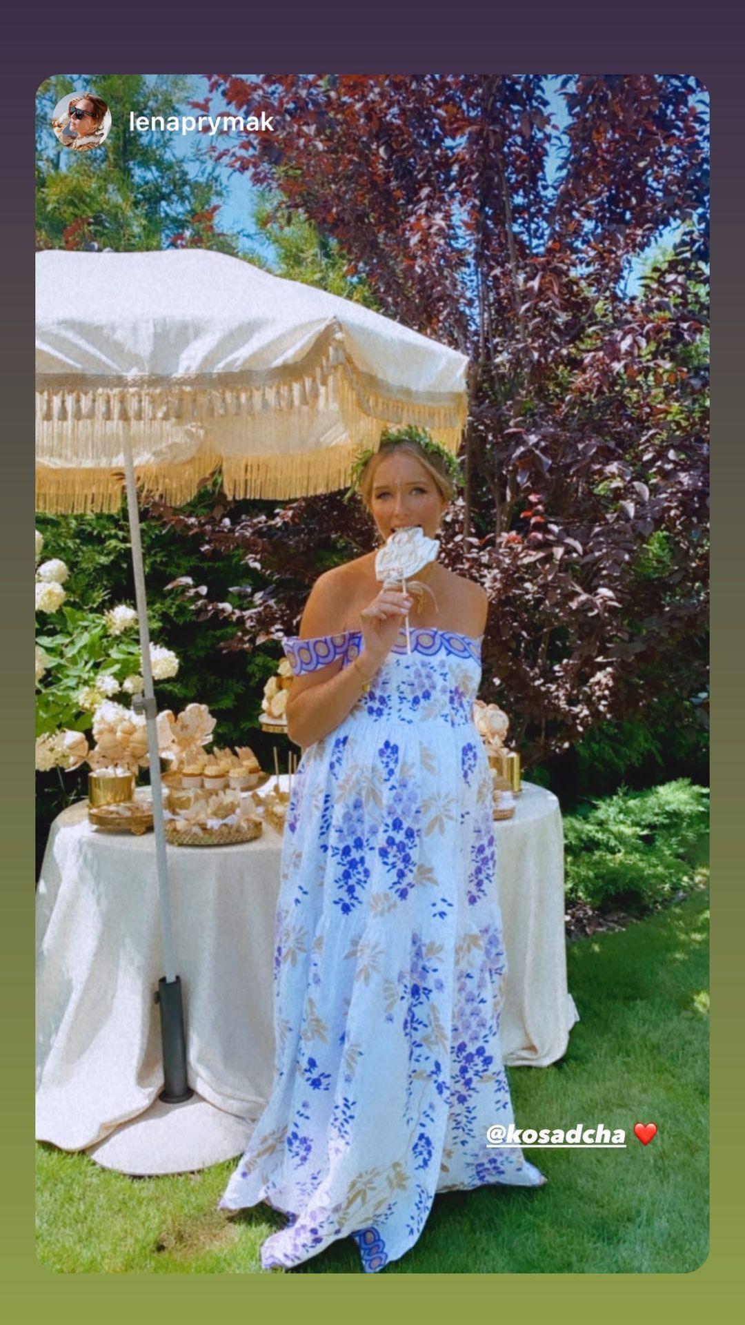 В кругу звездных друзей: Юрий Горбунов организовал для Кати Осадчей Baby Shower