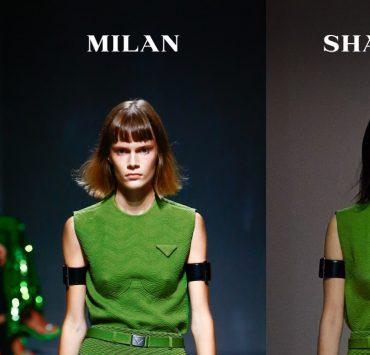 Бренд Prada показал весеннюю коллекцию одновременно в Милане и Шанхае