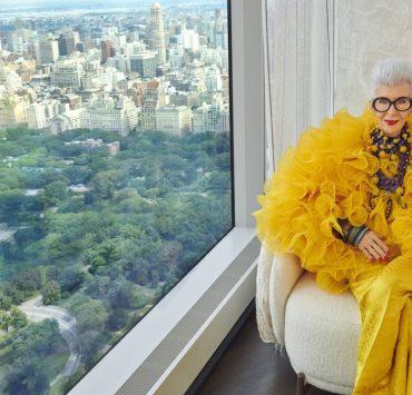 Айрис Апфель создала коллаборацию с H&M
