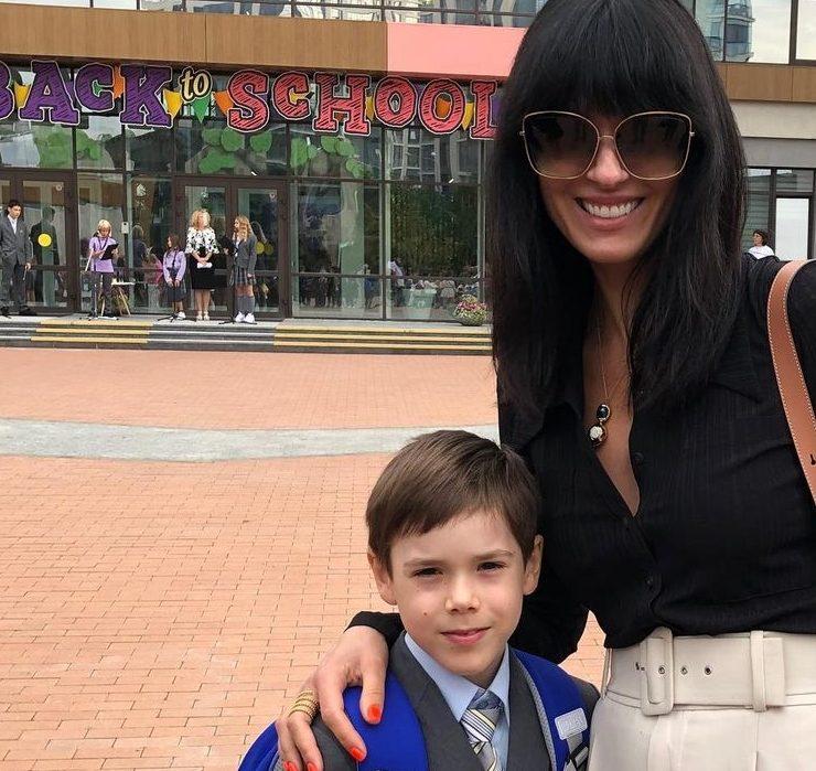 Instagram-репортаж: как украинские знаменитости проводили детей в школу