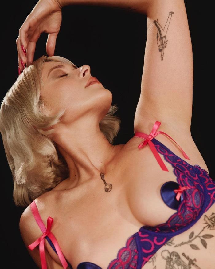 Рианна примерила кружевное белье из последнего дропа своего бренда Savage X Fenty