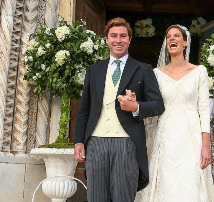 Королівське весілля: принцеса Ліхтенштейну Марія Астрід вийшла заміж