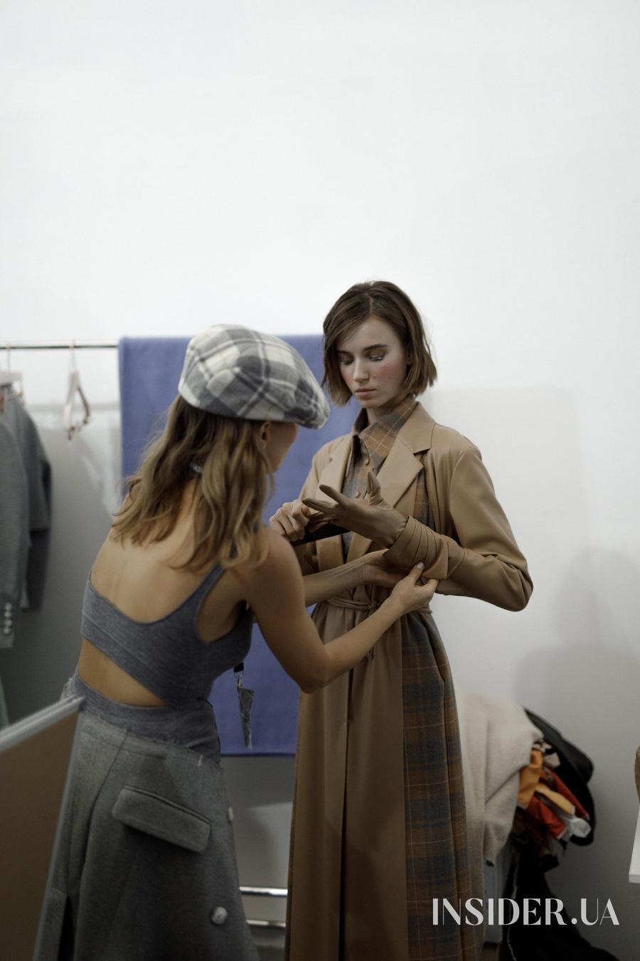 Алла Костромичева открыла показ the COAT by Katya Silchenko FW'21/22