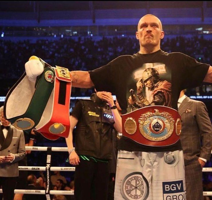 Александр Усик победил британца Энтони Джошуа и стал новым чемпионом мира