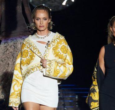 Как прошел показ совместной коллекции Fendi и Versace