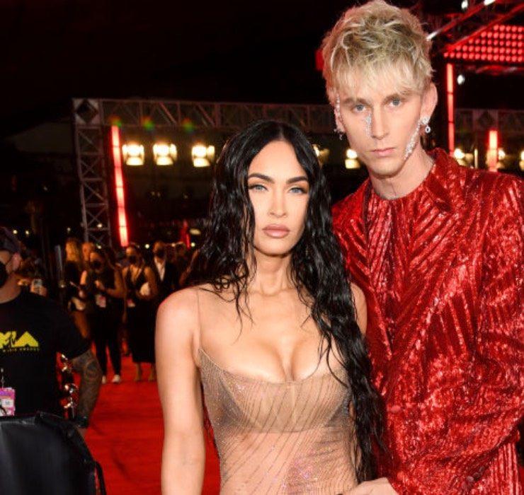 Меган Фокс у прозорому платті та Мадонна в шкіряному боді: чим запам'яталася церемонія MTV VMA