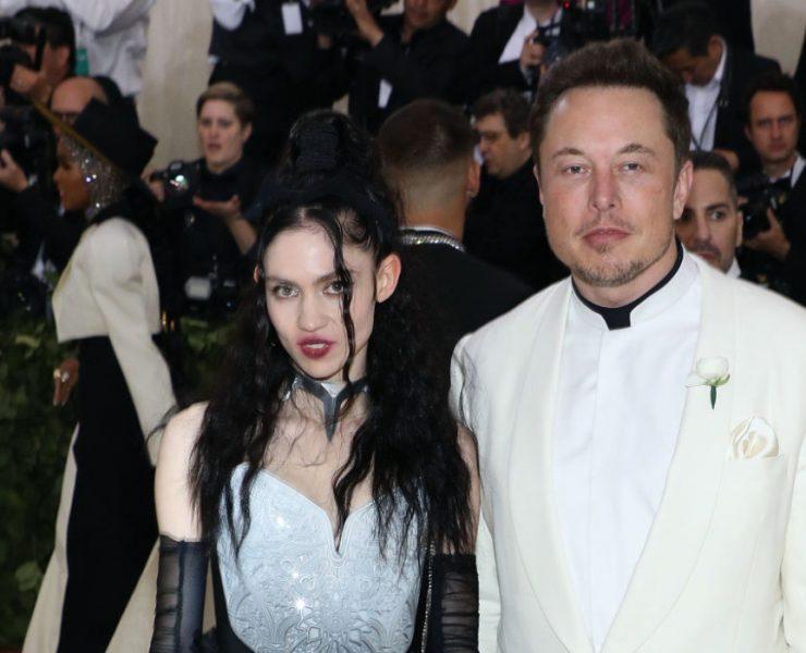 Граймс и Илон Маск
