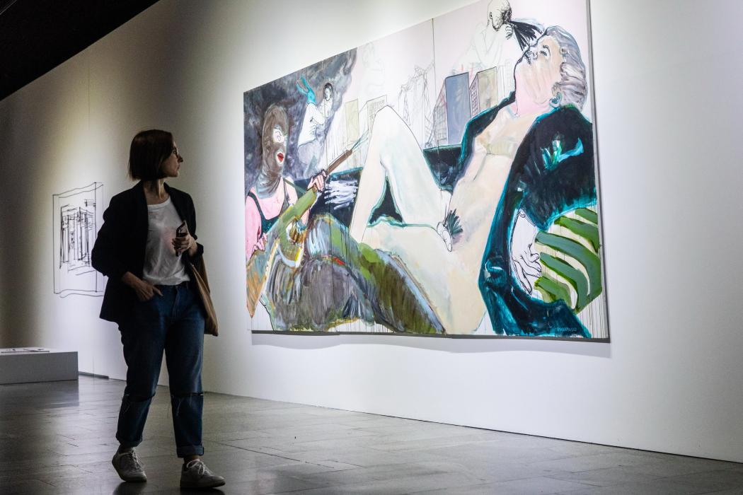 В Украинском доме проходит выставка «30х30. Современное украинское искусство»