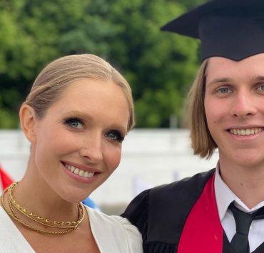 Редкие кадры: Катя Осадчая поздравила старшего сына Илью с днем рождения