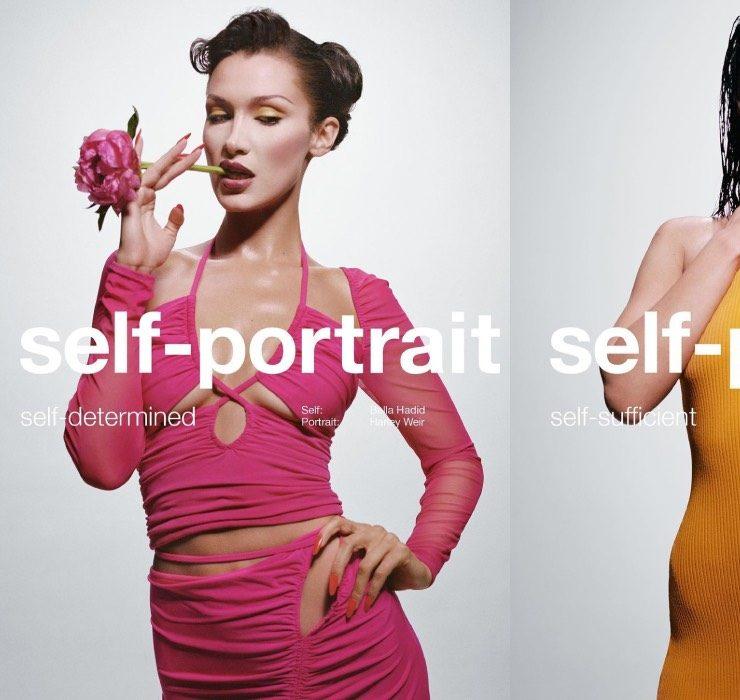 Белла Хадид демонстрирует разные черты своего характера в рекламной кампании Self-Portrait