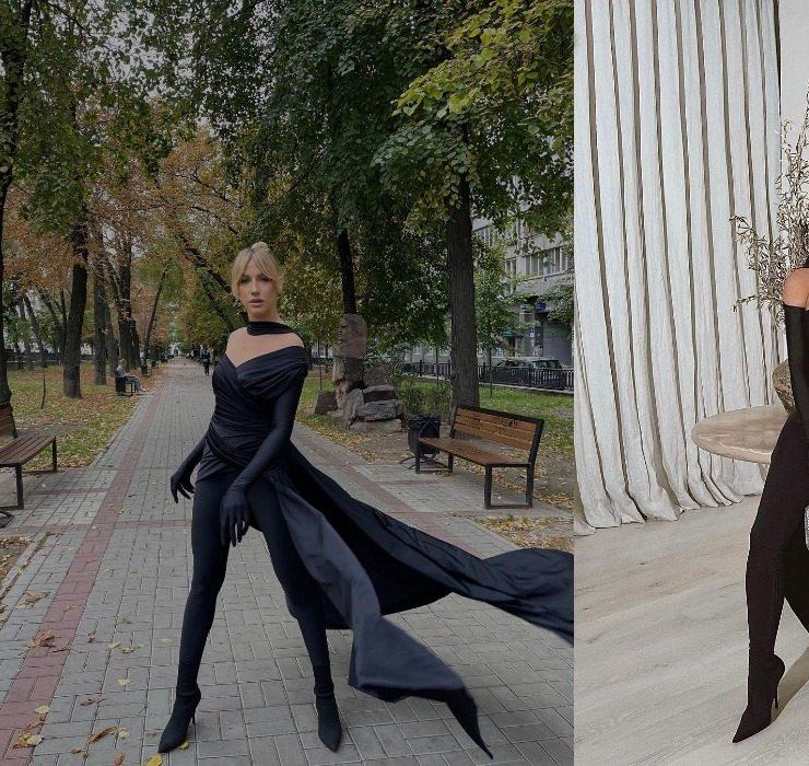 Битва нарядів: Леся Нікітюк vs Кім Кардаш'ян в Balenciaga