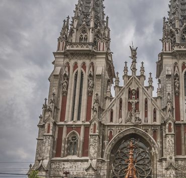 В костеле Святого Николая в Киеве случился пожар