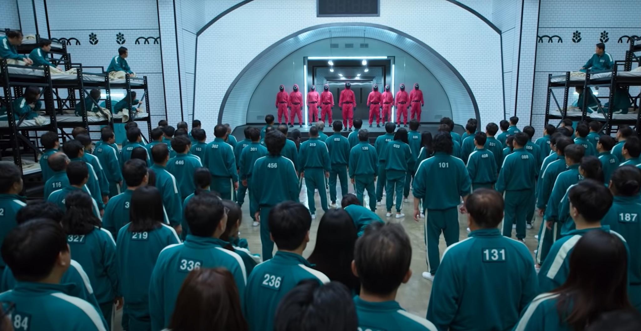 В Корее проведут реальные испытания из «Игры в кальмара»