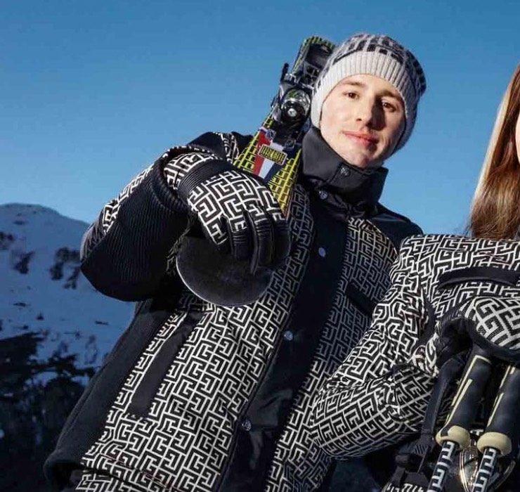 Бренд Balmain выпустил горнолыжную коллекцию вместе с Rossignol