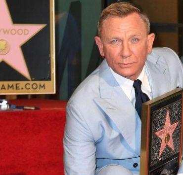 Дэниел Крейг получил именную звезду на голливудской «Аллее славы»